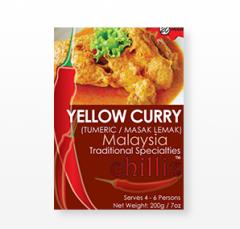Yellow Curry ( Tumeric / Masak Lemak )