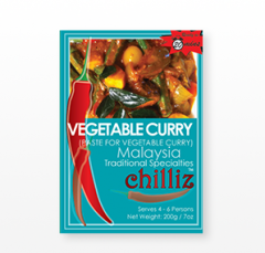 Vegetable Curry ( Paste For Vegetable Curry )