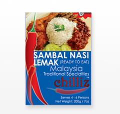 Sambal Nasi Lemak ( Ready To Eat )