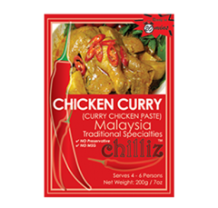 Chicken Curry paste - 3 pack
