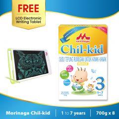 Morinaga Chil-kid 8 boxes x 700g ( free 1 LCD Electronic Writing Tablet)
