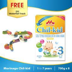 Morinaga Chil-kid 8 boxes x 700g ( free 1 DIY Waterfall Track)